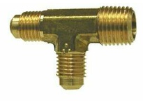 MRO 10350 3/8 X 1/4 M FLARE X M RUN TEE