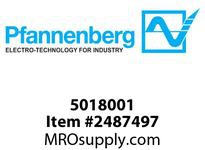Pfannenberg 005018001 Ad apter Bushing M16x1/2NPT Machined Part