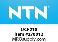 NTN UCF210 MOUNTED UNIT(CAST IRON)