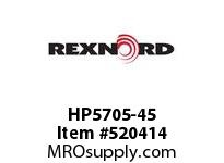 REXNORD HP5705-45 HP5705-45 134644