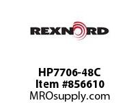 REXNORD HP7706-48C HP7706-48 CUT FROM MTW CONTACT PLANT FOR ACCURATE DESCRIPT