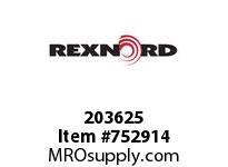 REXNORD 203625 598256 163.DBZC.CPLG STR SD