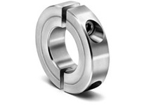 Climax Metal H2C-343-S 3 7/16^ ID 2pc Stnls Shaft Collar
