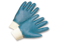 West Chester 4000/L Knit Wrist Nitrile Fully Coated Jersey Lined