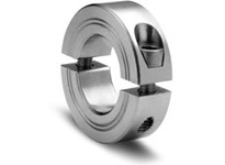 Climax Metal M2C-80-S 80mm ID 2pc Stnls Shaft Collar