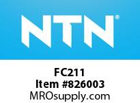 NTN FC211 Bearing Units - Cast Housing