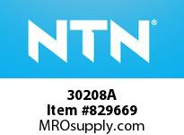 NTN 30208A Small Tapered Roller Bearings