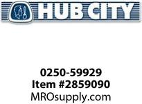 HUB CITY 0250-59929 SSHB2073EL 31.90 56C Helical-Bevel Drive