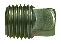 MRO 66671 1/4 GALV SQ HD STEEL PLUG (Package of 20)