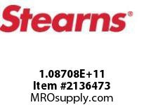 STEARNS 108708200129 BRK-SPLN HUB & DISCSCL H 8022024