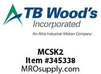 TBWOODS MCSK2 MCS KIT #2 SEAL KIT