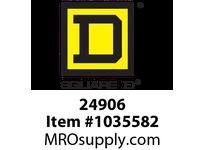 SquareD 24906 MINIATURE CIRCUIT BREAKER 240/415V .5A BREAKER 240/415V .5A