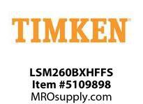 TIMKEN LSM260BXHFFS Split CRB Housed Unit Assembly