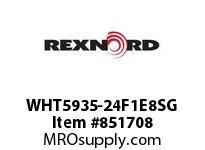 REXNORD WHT5935-24F1E8SG WHT5935-24 F1 T8P S1 N.93 WHT5935 24 INCH WIDE MATTOP CHAIN W