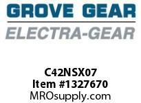 Grove-Gear C42NSX07 COVER; 3.00-3.25 CD DOUBLE INPUT