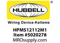 HBL_WDK HPMS12112M1 MINQCKM STR PLG MET12P16/1212MOD