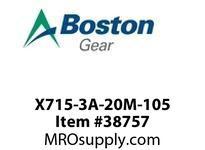 BOSTON B00045 X715-3A-20M-105 CUSTOM 715 S/A 20:1