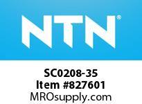 NTN SC0208-35 Bearing Units - Cast Covers