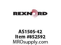 REXNORD AS1505-42 AS1505-42 AS1505 42 INCH WIDE MATTOP CHAIN WI
