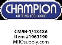 Champion CM9B-1/4X4X6 BULK SDS PLUS BITS (25)