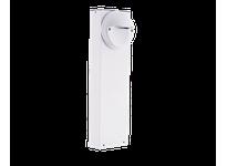 RAB BLEDR5-18YW LED BOLLARD 18 5W WARM W/ ROUND SLED WHITE