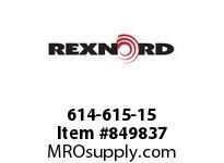 REXNORD 614-615-15 KUS5700-27T 2 KWSS NYL KUS5700-27T SPLIT SPROCKET WITH 2 I