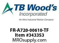 TBWOODS FR-A720-00610-TF CT INV 20HP(ND) 15HP(HD) 240V