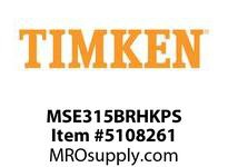 TIMKEN MSE315BRHKPS Split CRB Housed Unit Assembly