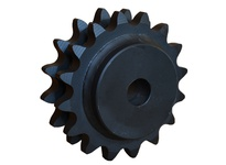 D24C48 C-Hub Double Roller Chain Sprocket MET