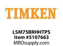 TIMKEN LSM75BRHHTPS Split CRB Housed Unit Assembly