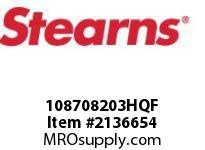 STEARNS 108708203HQF BRAKE ASSY-STD 8029307