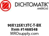 Dichtomatik 90X125X13TC-T-BX OIL SEAL
