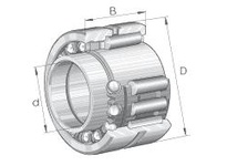 INA NKIB5911 Combination bearing