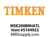 TIMKEN MSE200BRHATL Split CRB Housed Unit Assembly