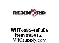REXNORD WHT6085-48F3E6 WHT6085-48 F3 T6P N2 C2.2 WHT6085 48 INCH WIDE MATTOP CHAIN W