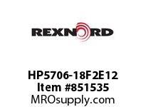 REXNORD HP5706-18F2E12 HP5706-18 F2(TPE) T12P N2