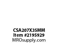 PTI CSA207X35MM BALL BEARING INSERT-35MM CSA 200 SILVER SERIES - NORMAL DUTY