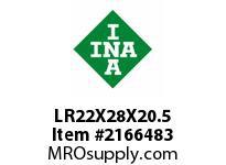 INA LR22X28X20.5 Inner ring
