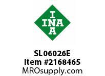 INA SL06026E Cylindrical roller bearing-full com