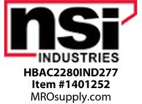 NSI HBAC2280IND277 INDUCTION HIGH BAY 80W 22^ ACRYLIC LENS 277V