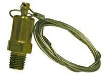MRO 46065 1/4 MIP DRAIN VALVE W/ 5 CABLE