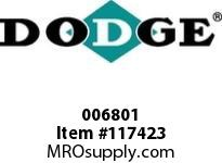 DODGE 006801 1090T HUB 3 1/4