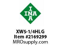 INA XW5-1/4HLG Thrust ball bearing