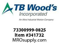 TBWOODS 73300999-0825 73300999-0825 11S M-SF CPLG