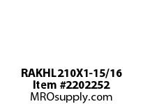 PTI RAKHL210X1-15/16 PILLOW BLOCK BEARING-1-15/16 RAKHL 200 GOLD SERIES - NORMAL DUTY