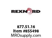 REXNORD 877.51.16 SGDP1005-595MM XLG PT XLG1005 595MM WIDE RUBBERTOP CHAIN