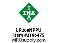 INA LR208NPPU Yoke type track roller