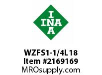 INA WZFS1-1/4L18 Linear fast shaft precision