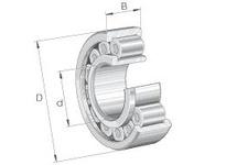 INA SL192314 Cylindrical roller bearing-full com