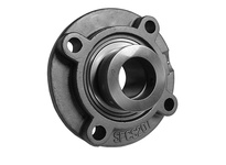 PTI SHCSFCS207-23 SS PILOTED 4-BOLT FLANGE BRG-1-7/16 SHCSFCS 200 SILVER SERIES - NORMAL